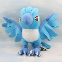 "cartoon Plush Toy 7""  Articuno Plush Toy cute Character Stuffed Animals kawaii Toys Doll for Kids Gift"