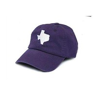 TX Fort Worth Gameday Hat in Purple by State Traditions