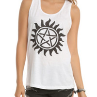 Supernatural Anti-Possession Symbol Girls Tank Top