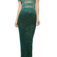 Signature Sequin Gown