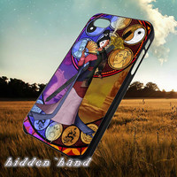 Disney Mulan stained glass,Case,Cell Phone,iPhone 5/5S/5C,iPhone 4/4S,Samsung Galaxy S3,Samsung Galaxy S4,Rubber,13/07/3/Ar