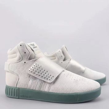 Adidas Tubular Invader Strap Fashion Casual High-Top Old Skool Shoes-22