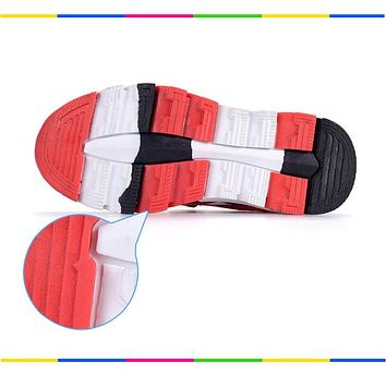 Spring Autumn Boys Sneakers Children Shoes Canvas Man-made Suede Kids Shoes Fashion Sport Footwear