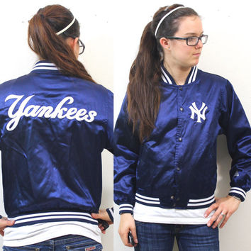 Vintage Retro New York Yankees Shiny Jacket