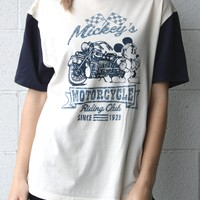 """Mickey's Motorcycling Riding Club"" Vintage Tee"