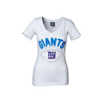 DCCK8X2 New York Giants NFL Womens Baby Jersey Football T-Shirt