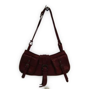 Burberry Women's Leather Shoulder Bag Brown BF316781
