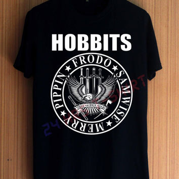 The HOBBIT Shirt Movie Shirt The Hobbits Shirt T Shirt T-Shirt TShirt Tee Shirt No Side Seams Unisex - Size S M L XL