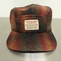 Vintage Abercombie & Fitch Hunting Hat Cap Genuine Made Goods Wool Blend Dad Hat