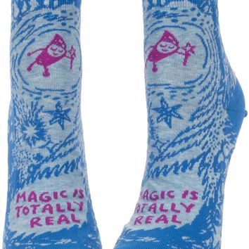 Magic is Totally Real Women's Ankle Socks - PRE-ORDER, SHIPS LATE JULY