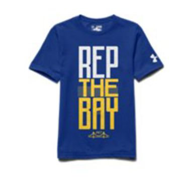 Under Armour Boys' SC30 Rep The Bay T-Shirt