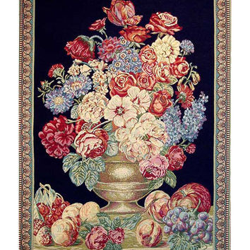 Mini Vase Tapestry Wall Art Hanging