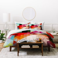 Three Of The Possessed Words Heavy 1 Duvet Cover