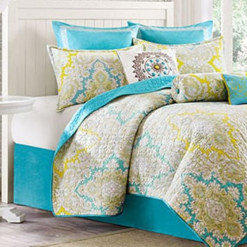 Echo Bedding, Hudson Paisley Coverlets - Quilts & Bedspreads - Bed & Bath - Macy's