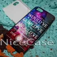 Bring Me The Horizon Could Would Quote for iPhone 4 / 4S / 5 / 5c / 5s Case Samsung Galaxy S3 / S4 Case Cover