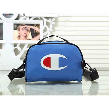 Champion Trending Stylish Canvas Sports Crossbody Satchel Shoulder Bag Blue I-XS-PJ-BB