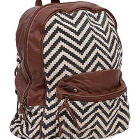 Lulu Chevron Backpack