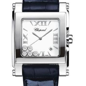 Chopard - Happy Sport - Square Extra Large - Stainless Steel
