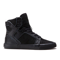 SUPRA Footwear™ | Official Store | WOMENS SKYTOP | BLACK/BROGUE - BLACK
