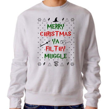 Harry Potter Christmas 3460 Sweater Man and Sweater Woman
