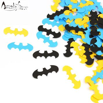 Batman Dark Knight gift Christmas Batman Confetti Superheroes Theme Birthday Party Supplies Boys Baby Shower Decorations Batman Confetti AT_71_6