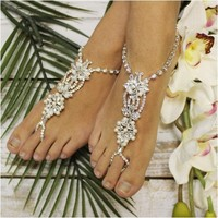 ANGEL wedding barefoot sandals