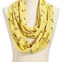 Women's Bike-Print Jersey Infinity Scarves | Old Navy