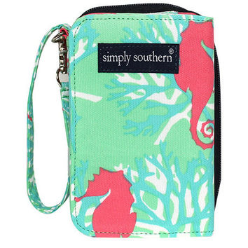 Simply Southern Wallet - Seahorse