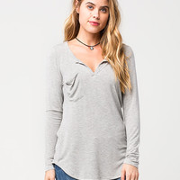 OTHERS FOLLOW Slouch Pocket Womens Tee | Raglans & L/S Tees