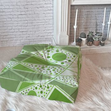 Viviana Gonzalez Greenery Sensation 01 Floor Pillow Square | DENY Designs Home Accessories