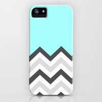 Color Blocked Chevron 16 iPhone & iPod Case by Josrick