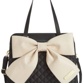 Betsey Johnson Bow Tote | macys.com