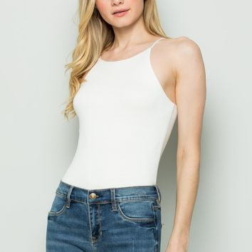 Out Of Focus Bodysuit - Ivory