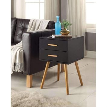 Modern Mid-Century Style End Table Nightstand