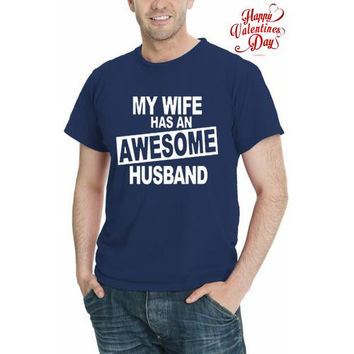 Awesome Husband Men Graphic T-Shirt  Sizes  S-5XL
