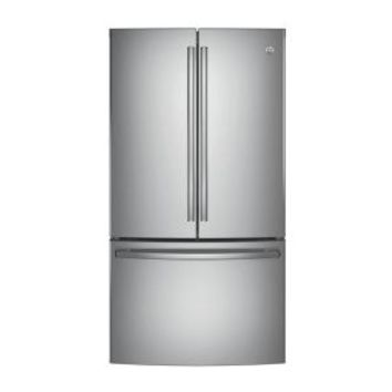 GE 28.5 cu. ft. French Door Refrigerator in Stainless Steel GNE29GSKSS at The Home Depot - Mobile