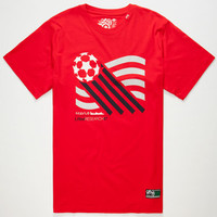 Lrg Lifted National Anthem Mens T-Shirt Red  In Sizes