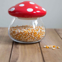 Mushrooms Amanita Second Helping Jar by One Hundred 80 Degrees from ModCloth