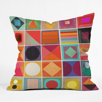 Garima Dhawan Awake 1 Outdoor Throw Pillow
