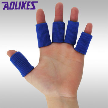 HANDISE Sports Finger Splint Guard Bands Bandage Support Wrap Basketball Volleyball Football Fingerstall Sleeve Caps Protector