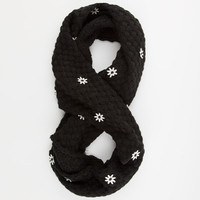 Scattered Flower Infinity Scarf | Scarves