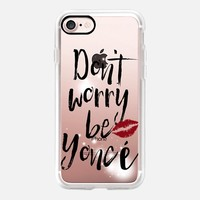 BE YONCÉ iPhone 7 Capa by Li Zamperini Art | Casetify