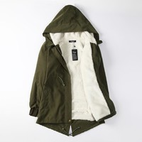 Thicken Cotton Winter Jacket [26835812359]
