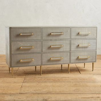 Odetta Nine-Drawer Dresser