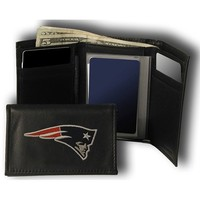 Rico New England Patriots Embroidered Tri Fold Wallet