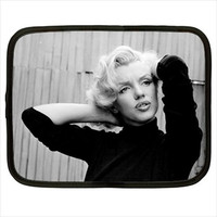 Marilyn Monroe Norma Jean Computer iPad Kindle Tablet Sleeve Case Size S M L XL XXL Custom Design Made to Order