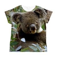 Koala Bear Women's All Over Print T-Shirt