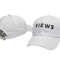 Fashion Dad Hat Women Men Brand Kanye West Drake VIEWS 6 God Baseball Cap Hip Hop White Daddy Hat Hot Style Know Yourself