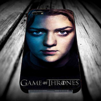 Arya Stark, game of throne iPhone 4/4s/5/5s/5c/6/6 Plus Case, Samsung Galaxy S3/S4/S5/Note 3/4 Case, iPod 4/5 Case, HtC One M7 M8 and Nexus Case **