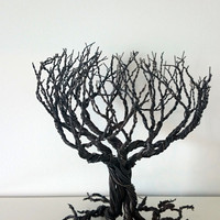 Whomping Willow tree. Gothic Harry Poter like tree